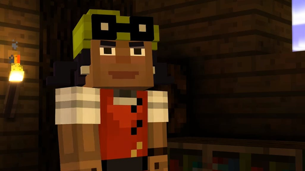 minecraft story mode characters names
