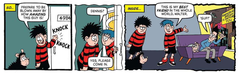 Beano Issue 4000 - Dennis and Gnasher