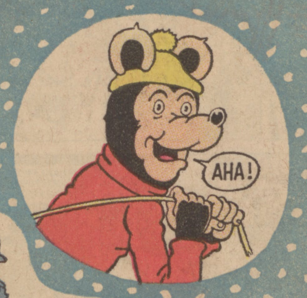 Biffo the Bear Christmas 1971