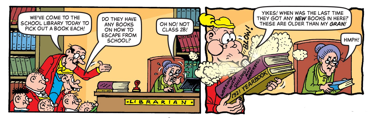 Inside Beano 3975 - Bash Street Kids