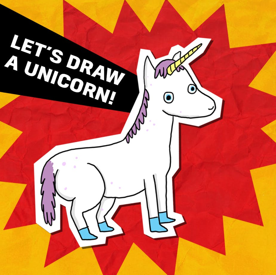 let's draw a unicorn!