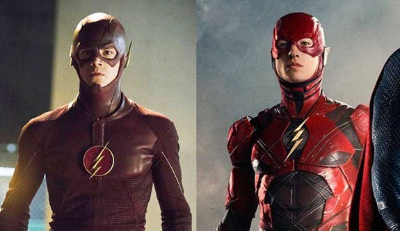 TV Flash and movie Flash