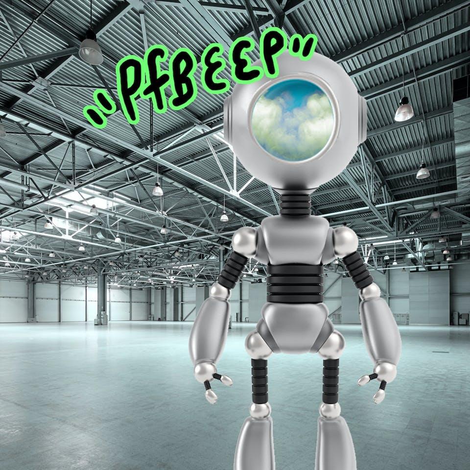 trumping robot beep