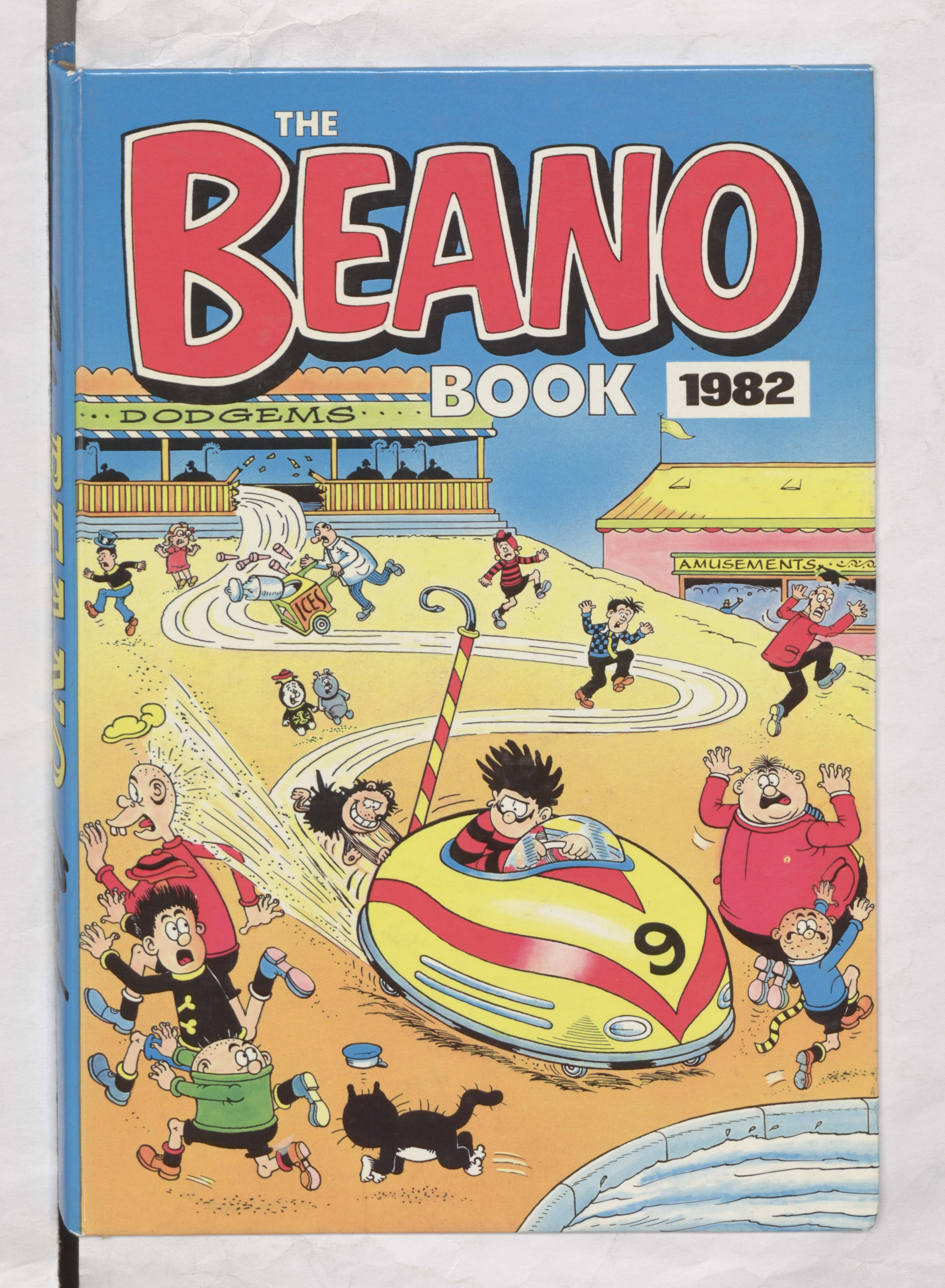 Beano Book 1982 Annual Cover