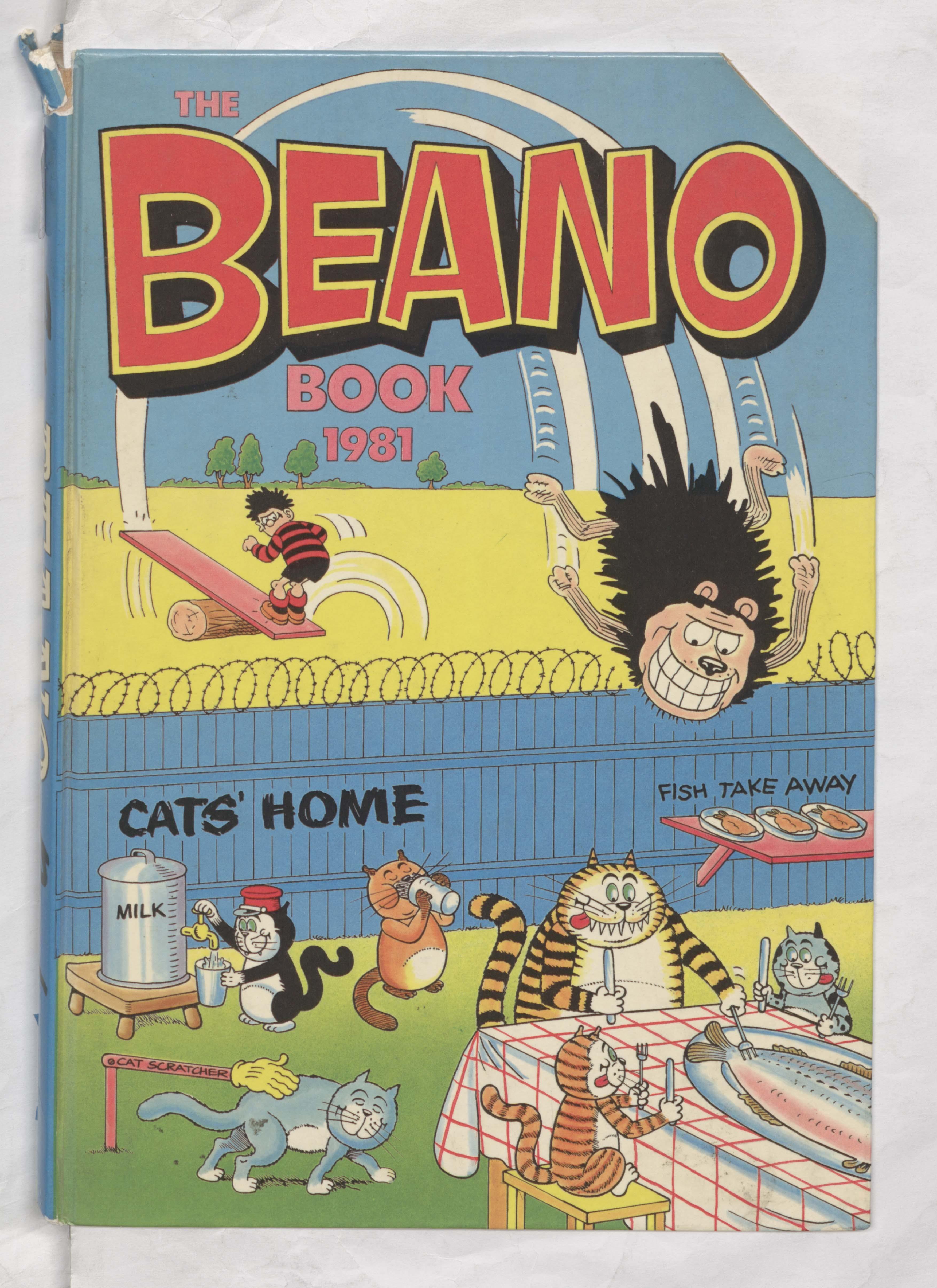 Beano Book 1981 Annual Cover