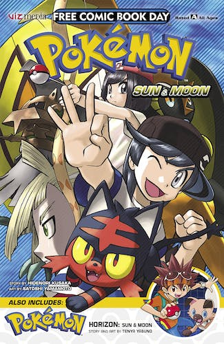 Pokémon Horizon free comic cover