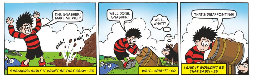 Beano no. 4003 - Dennis and Gnasher