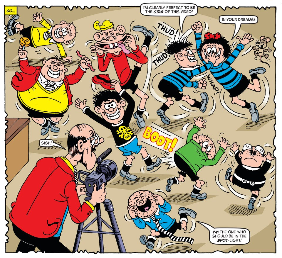 Inside Beano no. 3993 - The Bash Street Kids