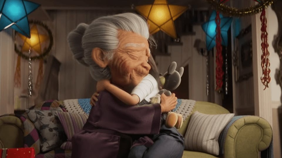 Disney's Christmas ad