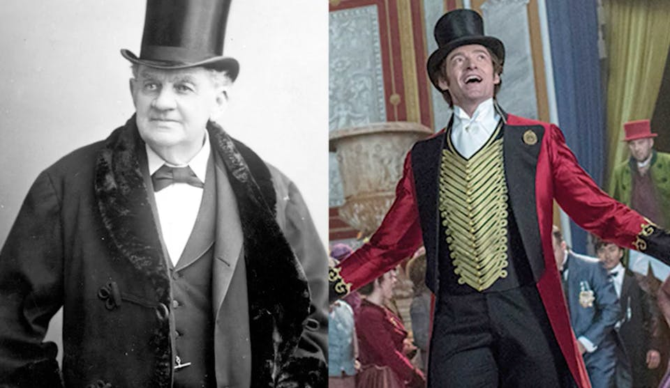 The Greatest Showman facts: PT Barnum and Hugh Jackman