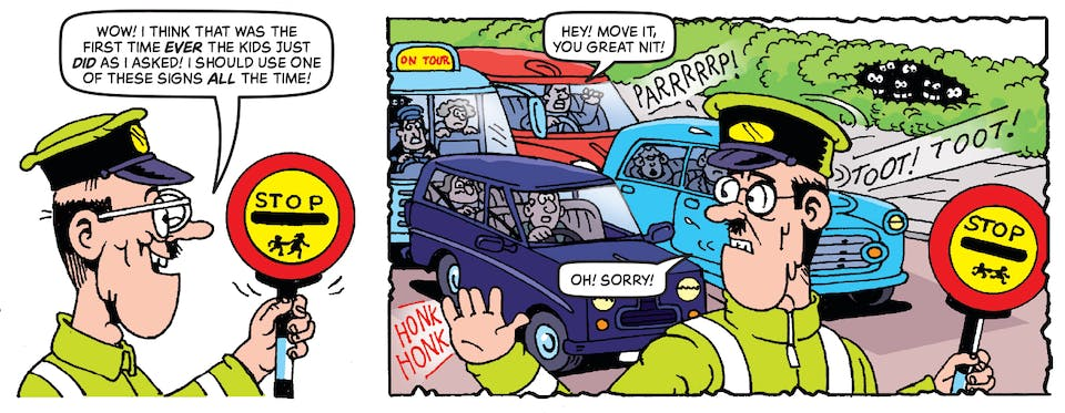 Inside Beano 4013 - The Bash Street Kids