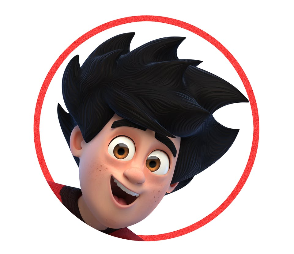 Dennis from Dennis and Gnasher Unleashed
