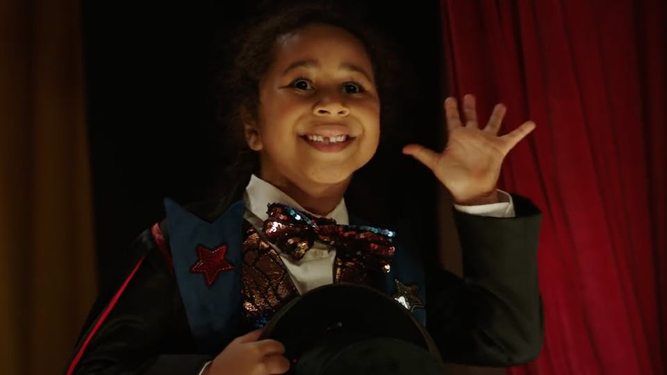A girl in Argos' new Christmas ad