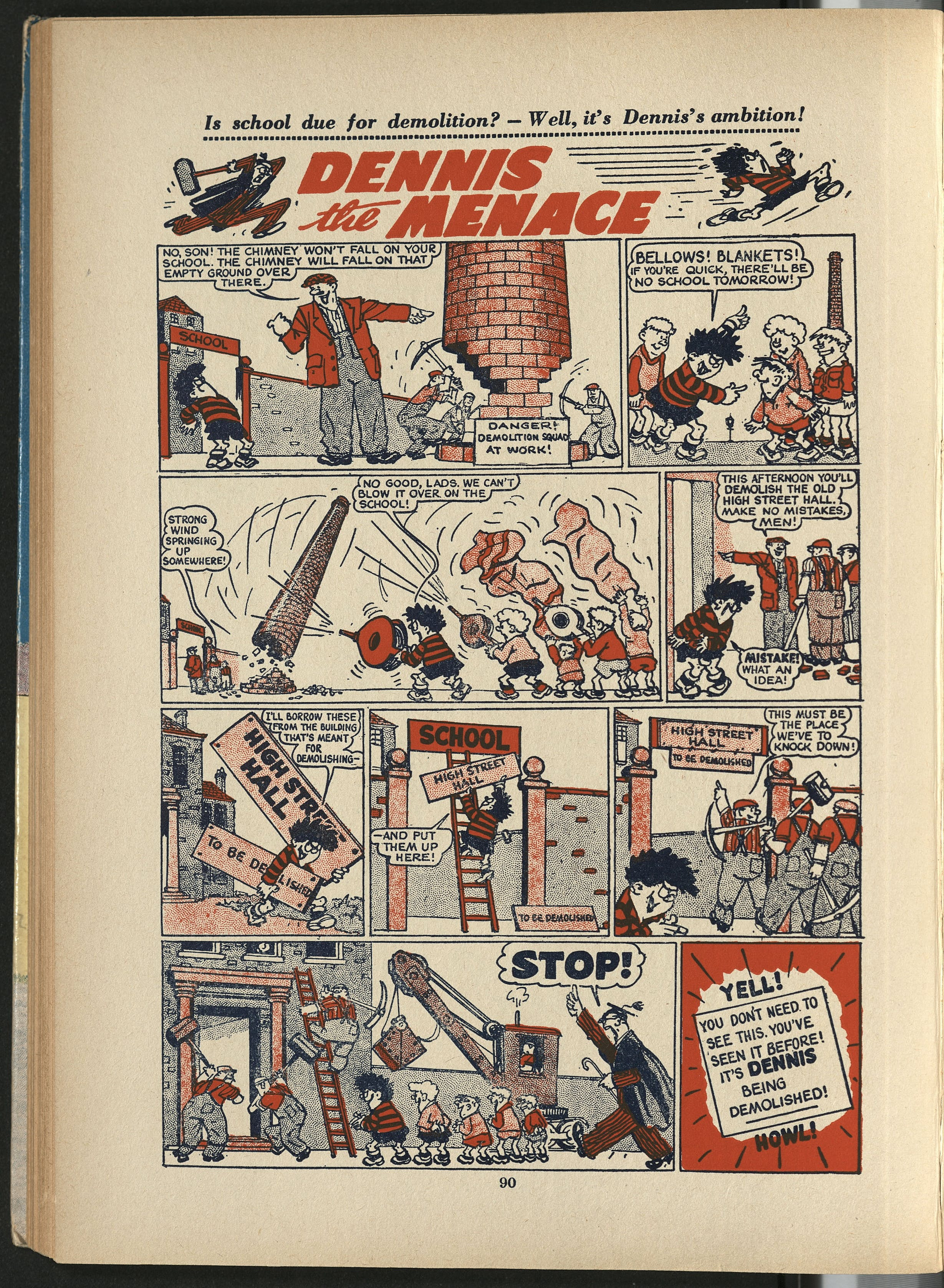 Dennis the Menace - Beano Book 1955 Annual