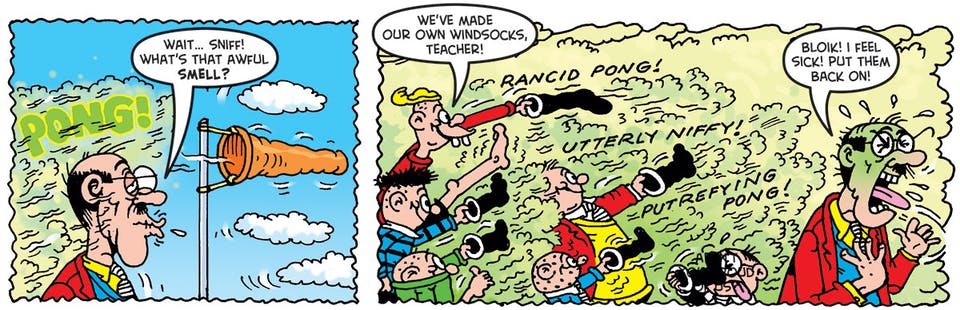 Inside Beano 3956 - Bash Street Kids kick up a stink