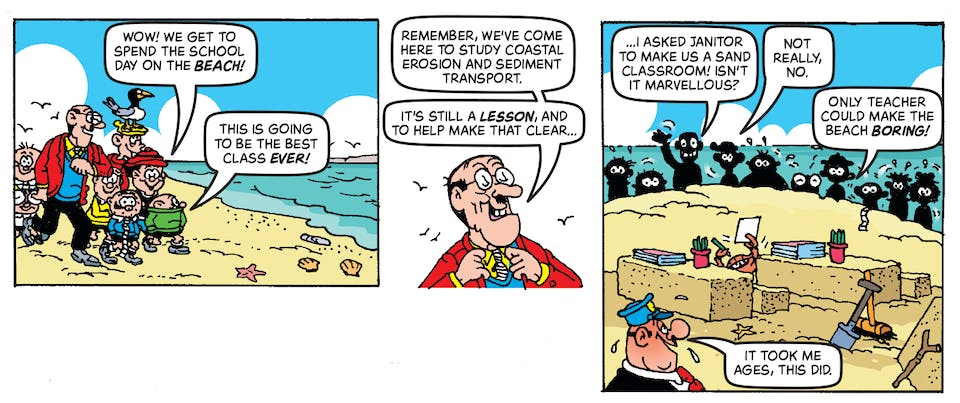 Inside Beano no. 3989 - Bash Street Kids