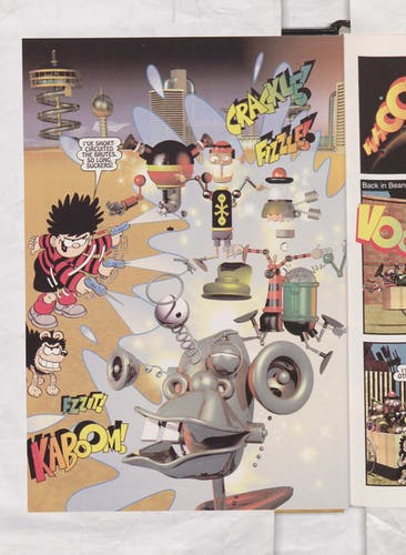 Dennis the Menace in Robot Rumble - Page 7