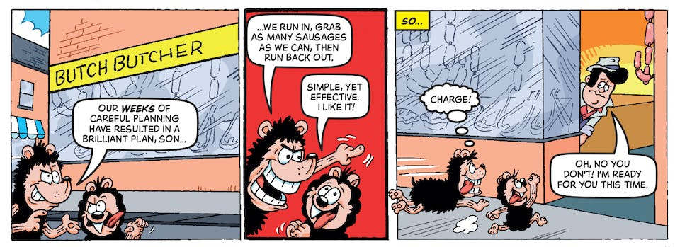 Inside Beano 4007 - Gnasher and Gnipper