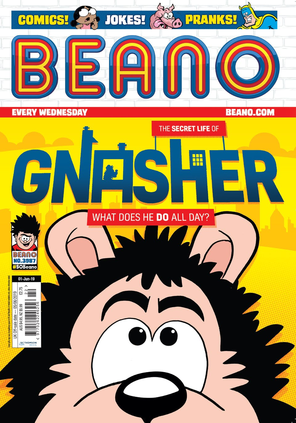 Beano no. 3987 - The Secret Life of Gnasher