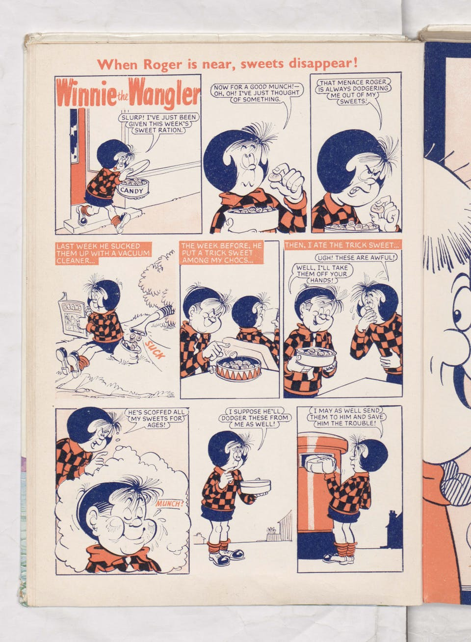 Winnie the Wangler - Beano Book 1969 Annual