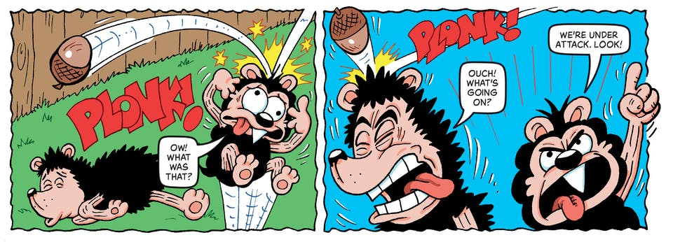 Inside Beano 4039 - Gnasher & Gnipper