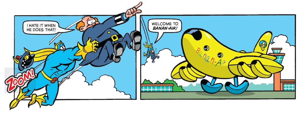 Inside Beano no. 3985! Bananaman