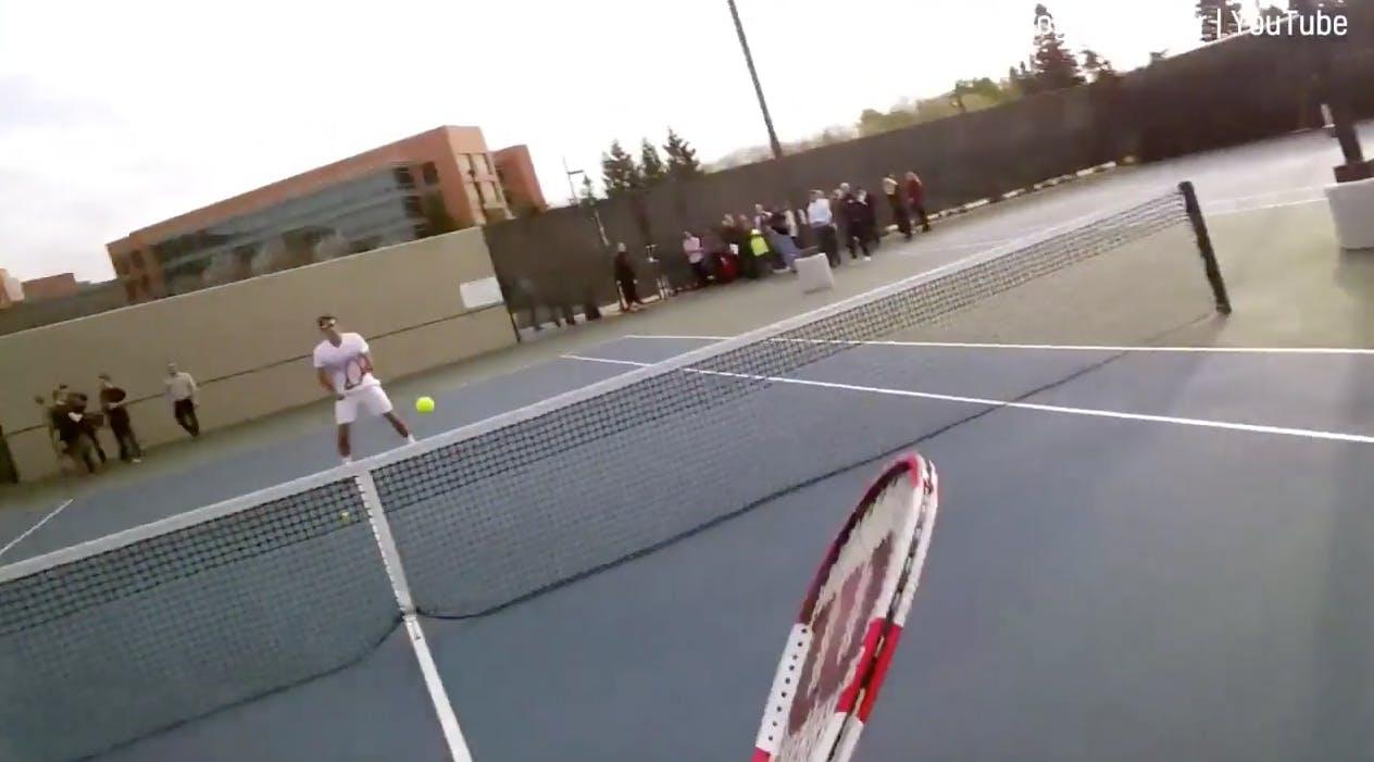 Tennis with Roger Federer