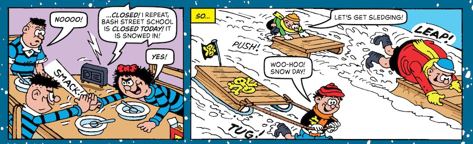 The Bash Street Kids | | Inside Beano. no. 4065