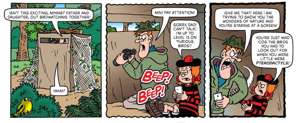 Inside Beano 4027 - Minnie the Minx