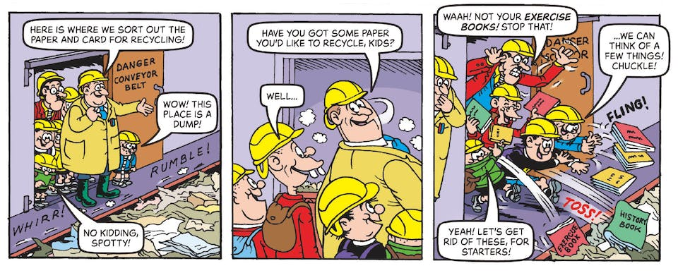 Inside Beano no. 3991 - The Bash Street Kids