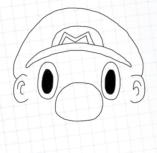 Mario got a hat - but no hair yet