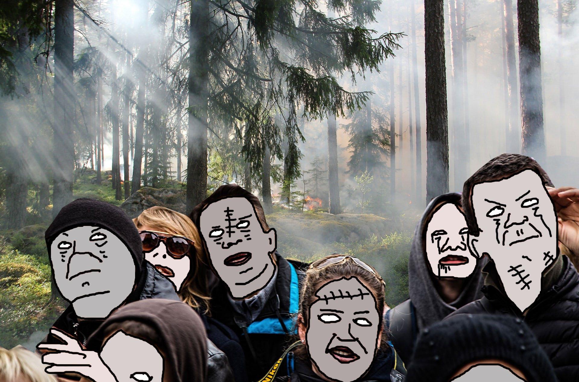 Zombie neighbours