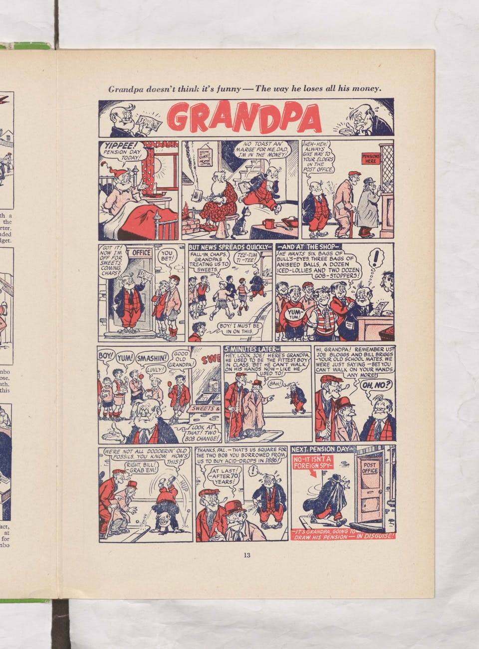 Grandpa - Beano Book 1957 Annual