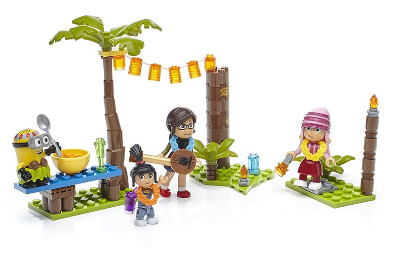 Agnes, Margo and Edith Mega construx