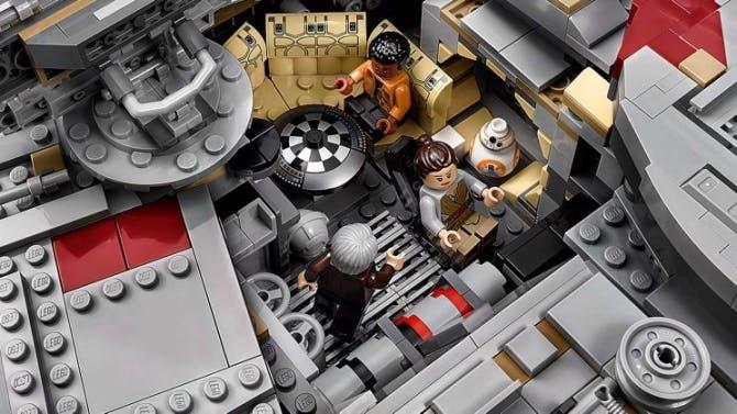 The LEGO Millennium Falcon