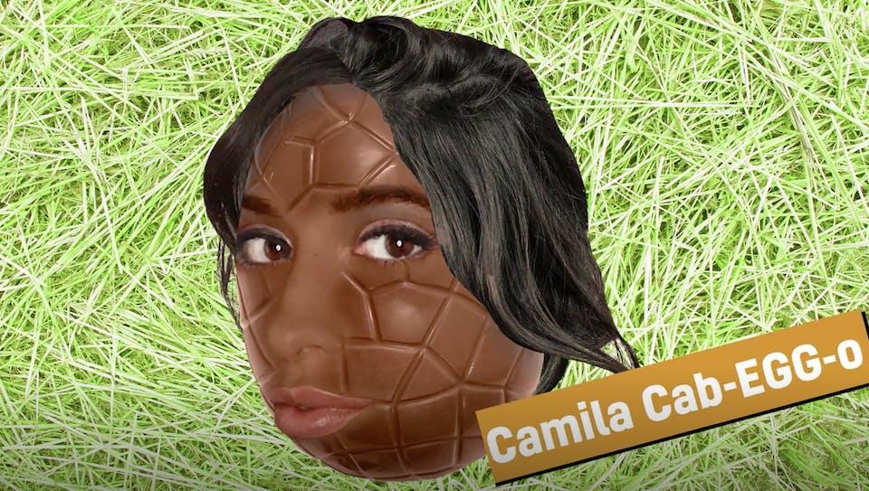 Camila Cabello as an Easter egg