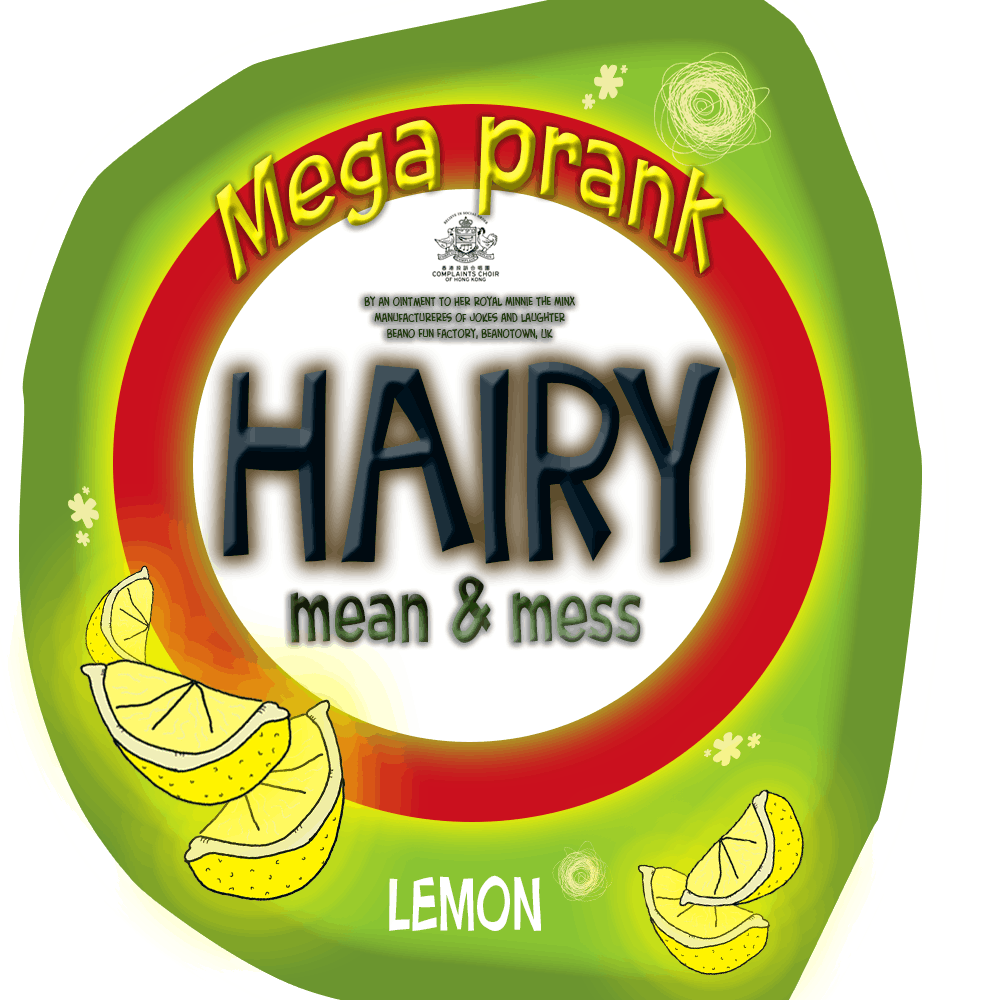 Hairy - label