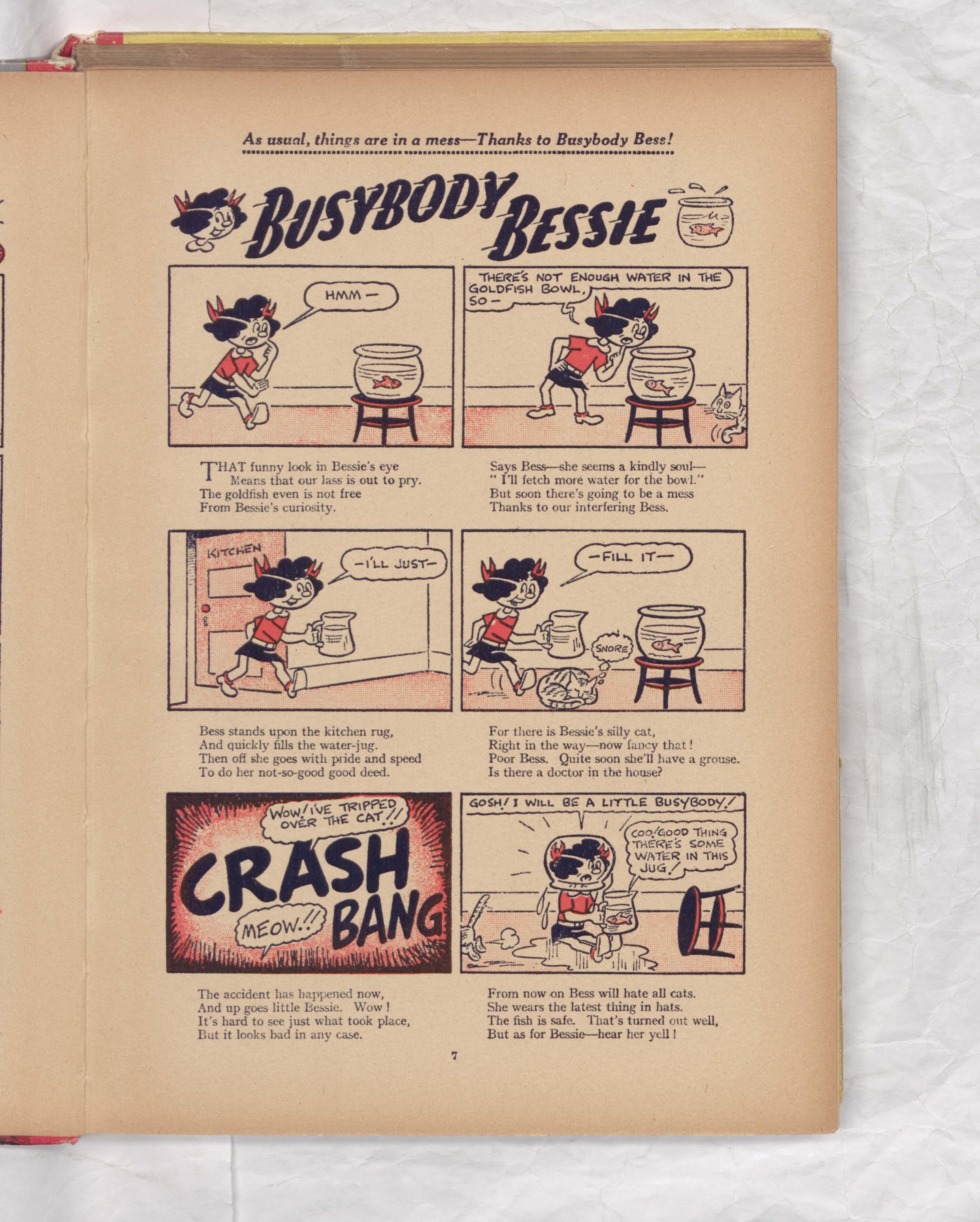 Busybody Bessie - Beano Book 1951 Annual