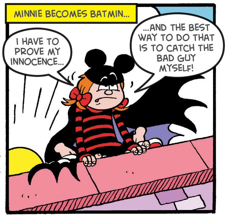 Minnie the Minx, Batmin, Beano Summer Activity Special 2017