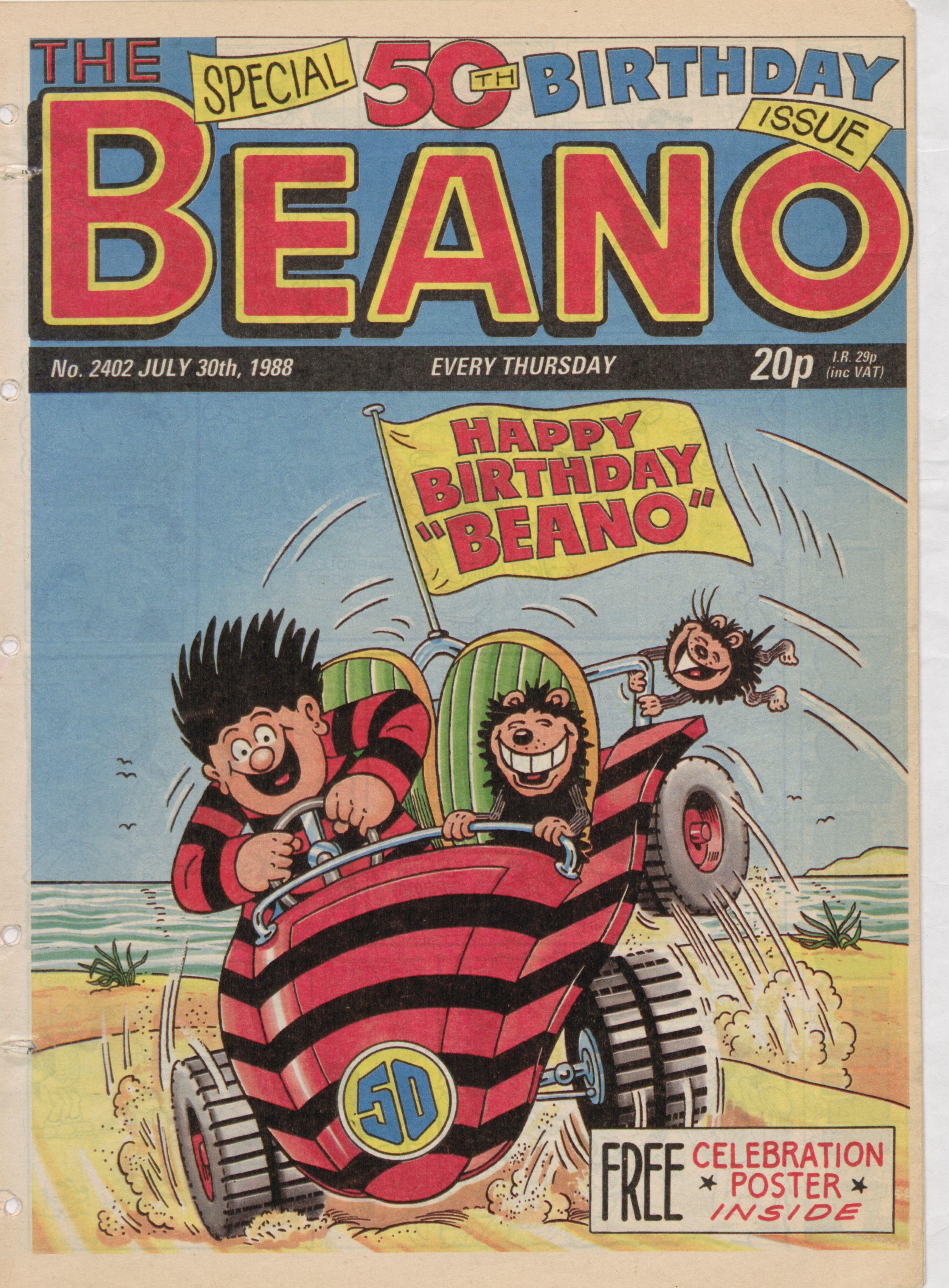 1988 beano cover