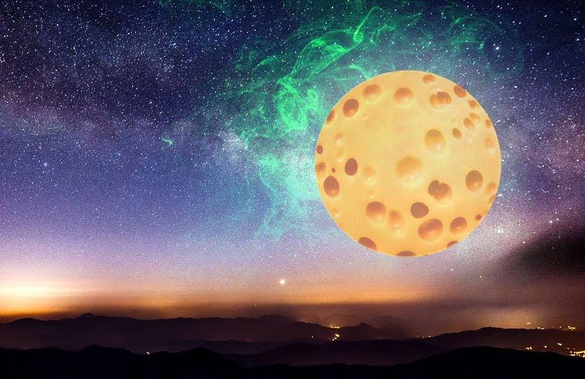 cheese moon
