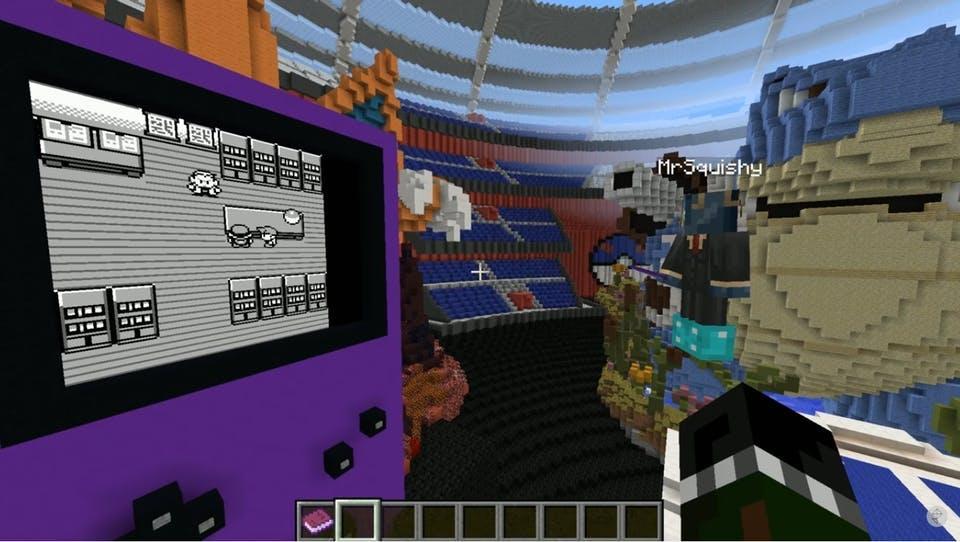 Pokemon Stadium including Blastoise and Charizard