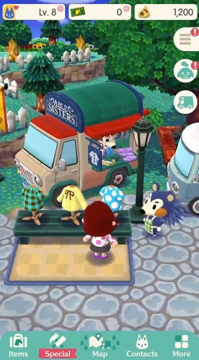 by things in animal crossing