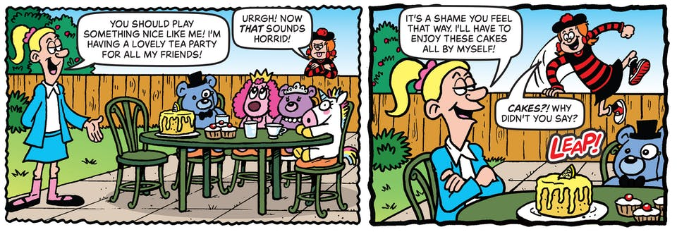 Inside Beano 4026 - Minnie the Minx