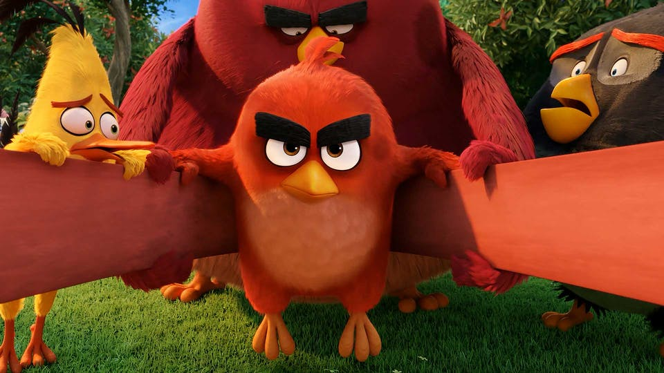 Red from Angry Birds