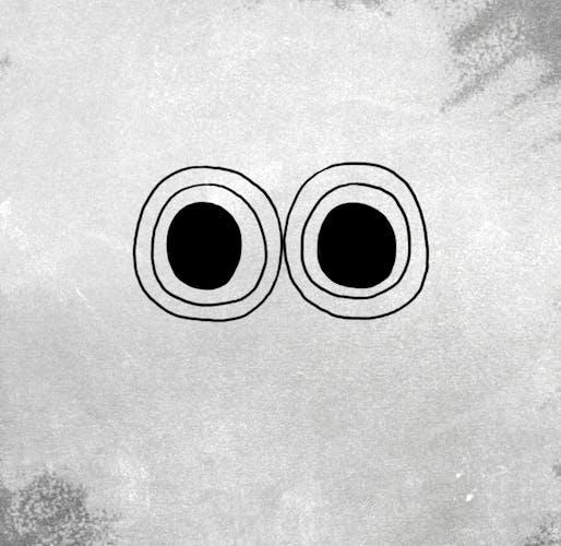 Creecher's eyes