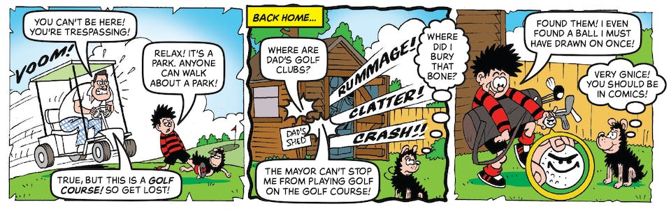 Inside Beano 4011 - Dennis and Gnasher