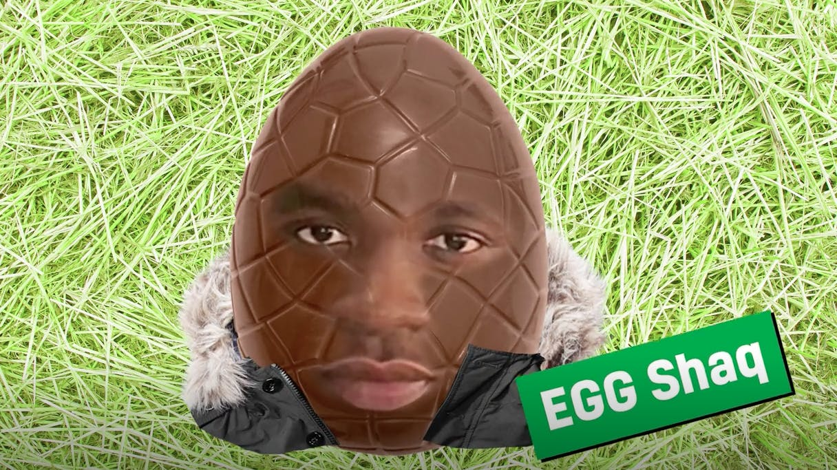 Big Shaq as an Easter egg