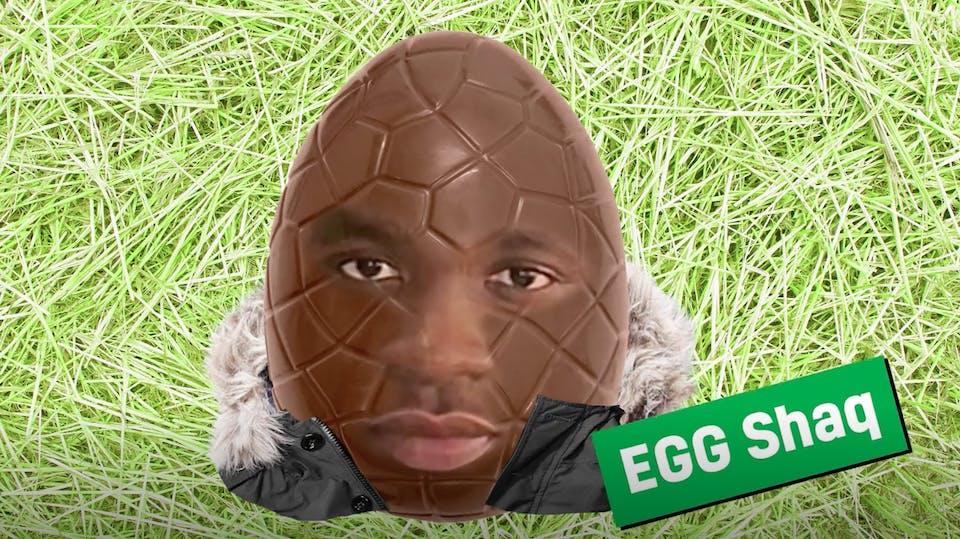 Big Shaq as an Easter egg