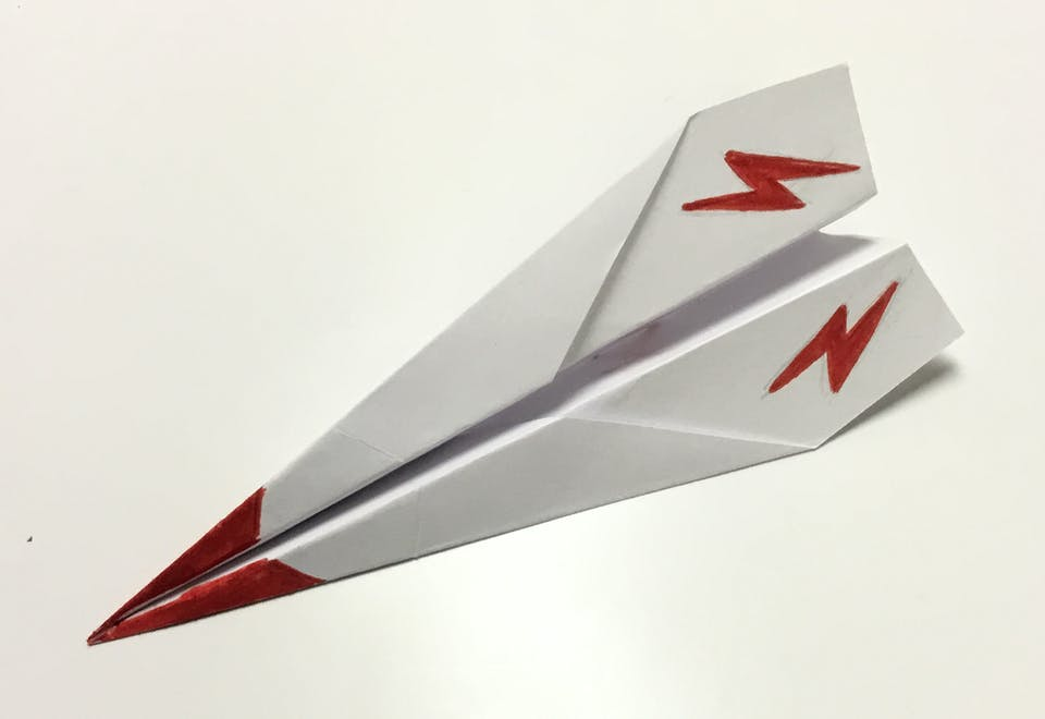 Catapult-Powered Paper Plane